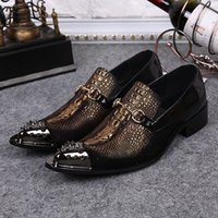 ali leather - Ali Hot Selling New Fashion Genuine Leather Shoes Lacing Men Luxury Italian Mens Shoes Wedding Shoes Groom Plus Size