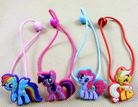 color rubber hair bands - New My little Pony Children rubber band Children s hair accessories for kids Gifts fa70