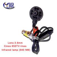 cctv ir led camera - Hot sell HD micro Security cctv spy Pinhole cam Video Infrared TVL Night Vision LED NM mini surveillance IR CAMERA