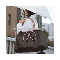 Wholesale Creative Design Bags Protectors for rainy and snowy days Double Functions Light Weight folding waterproof Shopping Bags