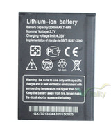 Wholesale 2000mAh Backup Replacement Li ion Battery Charger For THL W200 W200s W200C Smartphone Batterie Bateria Batterij