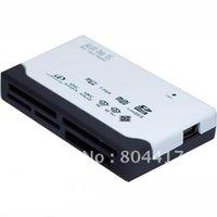 Wholesale 2012 New Cheap External USB Memory Card Reader Writer CF SDHC MMC XD MS MICRO MINI