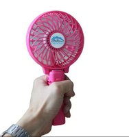 hand fan battery - Summer Cooler Cooling Fan Adjustable Hand Held Electric Air Cooler Rechargeable Portable Handle Folding USB Mini Fan