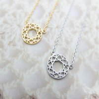 astrology color - 30PCS Fashion Rose gold plating necklace Astrology Compass necklaces for women and mixed color
