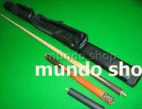 Wholesale 2pc billiards stick Snooker Club black ball Cue Pool bar Three Section Cue mini butt cm