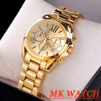 japanese dress style - Quartz Rose Gold Luxury Brand Men Casual Watch Dress Watch with Calendar Women Bracelet Japanese Style Quartz Brand with opp bag