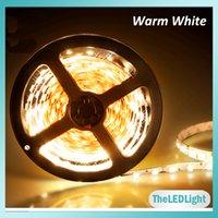 rgb strip - Waterproof LED Strip M SMD M Warm White Cold White Blue Green Red Yellow RGB Flexible V Led Strip Light