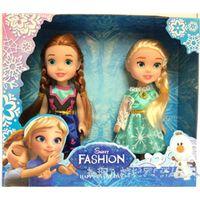 Wholesale 6 quot Girls Gift Princess Plastic Dolls Anna Elsa Juguete Snow Queen Boneca Meninas Princesa Brinquedos Meninas La Reine Des Neiges
