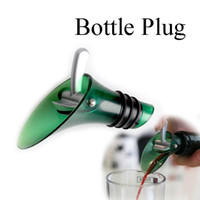 Wholesale New Silicone Red Wine Aerator Plug Cap Bottle Pourer Shutoff Seal Stopper C S8