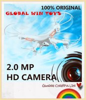 Wholesale RC Helicopter syma x5c Upgrade version syma x5c Axis GYRO Drone Quadcopter with MP HD Camera or Syma X5