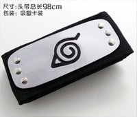 Cheap Anime Wholesale New Naruto Cosplay 98cm 20 Stlyle Set Accessories Headband Head Band Ring