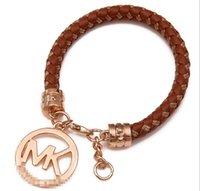 Wholesale Hot sale Leather bracelet restoring ancient ways top grade bracelets fashion bracelets Charm Bracelets JL