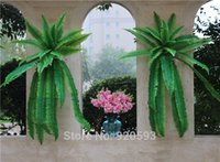 green leaves - Simulation flower adornment grass green plant pot plants hanging Row grass fern leaf Persian arranging flowers with leaves