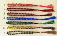 muslim prayer cap - Hot Islamic Prayer Beads Synthetic Quartz Beads Muslim Tasbih Allah Prayer Rosary Approx mm with Colors Drop Shipping