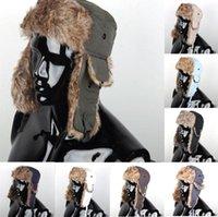 Wholesale Details about Mens Warmer Warm Earflap Russian Trapper Bomber Winter Snow Ski Hat winter Cap