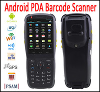 android data collector - Android PDA barcode scanner with G WIFI NFC GPS Bluetooth handheld PDA data Collector terminal Camera Scanner D D Laser Scanner