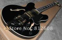 bigsby - black Custom Shop ES es335 es with Bigsby Bridge Electric Guitar