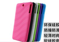 andriod tablet pc cases - Colorful Silicon Backup Case Cover for quot Lenovo IdeaTab A7 A7 Andriod Tablet PC