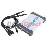 Wholesale Hot INSTRUSTAR ISDS205A PC Based USB Oscilloscope with CH mhz msa S FFT Analyzer USB Data Recorder handheld oscilloscope