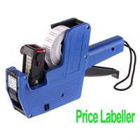 Wholesale Freeshipping Characters Universal Price Tag Pricing Labeller Gun for supermarket dropshipping