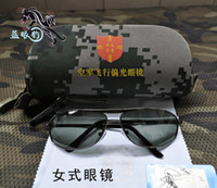 Wholesale Tactical Flight Military air Force pilot dedicated driver driving fishing polarized sunglasses Line polarizer goggles glasses