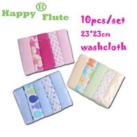 Wholesale 23 cm set towel set cotton polyester small square soft and comfortable washcloth