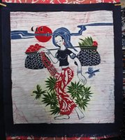 batik curtains - Unique decorative painting batik hangings painting hangings curtain