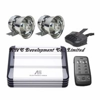 Wholesale A17 W Top Qulaity Car Siren for Police Ambulance Fire Fighting Rescue Vehicles Full Set Match with Speakers Dual Remotes