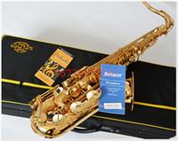 Wholesale b selmer tenor saxophone musical instrument electrophoresis gold professional grade