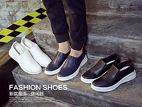 air hard drive - Spring leisure men s shoes in British han edition loafers retro air driving shoes single men s leather shoes
