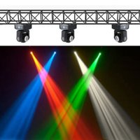 beam lighting disco - LIXADA LED W Double Sides RGBW Channel Disco Party Light DMX Beam Wash Rotating Moving Head LED Stage Light