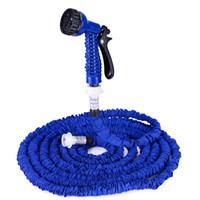 pocket hose - 25 FT Expanding Flexible Garden Water Pocket Hose with Spray Nozzle