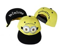 minion hat - Despicable Me Hat Minion Plush Hats Jorge Dave Stewart Cosplay Cap Despicable Plush Hat snapback hats