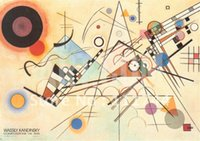 oil painting gallery - Art Gallery online Abstract wall art oil painting COMPOSIZIONE VIII By Wassily Kandinsky painting High quality hand painted