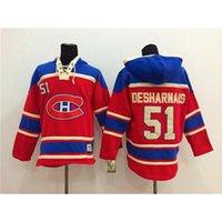 best price red mens jacket - Red Hockey Hoodies Canadiens David Desharnais Ice Hockey Sweaters Pullover Hooded Sweatshirt New Style Mens Hockey Jackets Best Price