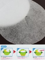 absorption of food - 12 pieces bag for Kitchen oil film soup food oil absorbing cotton kitchen paper of oil absorption cooking tools Z424