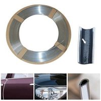 Wholesale 100 BRAND NEW quot U quot STYLE CAR DECORATION CHROME SILVER MOULDING TRIM STRIP For Sale