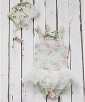 Cheap baby girl kids lace swimming suits hat cap flower floral bikini pettiskirt tutu skirt Swimwear bathing dress princess tulle skirt pleats 5
