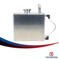 Wholesale PQY RACING Aluminum Coolant Overflow Tank For Supra MK III IV MGTE JZGT Litre PQY TK48