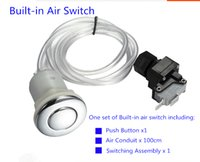 Wholesale Spa Bathtub Built in Air Switch Kitchen Food Waste Disposer Part Micro Air Switch Kit with air button hose Air pressure switch