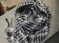 arab head covering - Tartan Arab Shemagh Keffiyeh Scarf Shawl project Kafiya Neck cover the head wrap for men women