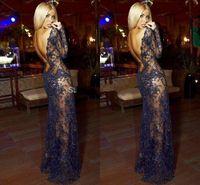 Cheap Vestido Longo Formal Evening Dresses 2015 Long Sleeves Zuhair Murad Evening Dress Vestido 51443