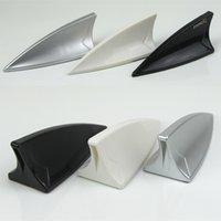 Wholesale Auto Supplies Shark Fin Auto Car Anti Static Decoration Antenna Taobao Hot Sale Silvery White Black Three Colors