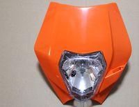 motorcycle headlamp - Motorcycle Headlights for KTM SX EXC XCF SXF Streetfighter Universal headlamp Fairing motorcycle lighting