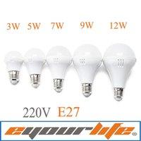 ball lampe - Eyourlife lampada led v ball bulb E27 W W W W W LED lamp lampadas de led casa levou focos bombillas ampolletas lampe