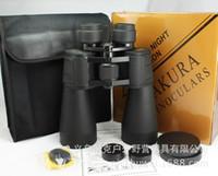 60x90 binoculars - Sports hunting outdoor telescope Sakura heavy calibre high definition x90 binoculars whloesale night vision monocular