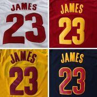 lebron james jersey - Cleveland LeBron James Jerseys Cheap New REV Embroidery Logo LeBron James Basketball Sport Jersey