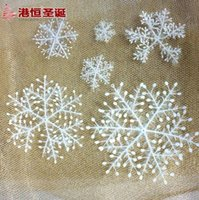 animal specification - 6 cm winding snowflake Christmas decorations many packages Six kinds of specification g supplies snowflake hanging party supplies