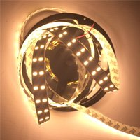 Wholesale High Bright M Leds Double Row Led SMD single color Flexible LED Strip Light Non Waterproof DC V