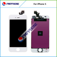 LCD Screen Panels lcd - LCD For iPhone G Free Fedex EMS DHL Ship with touch screen Full set Assembly White and black color